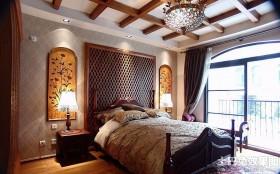 美式主卧室装修效果图大全图片