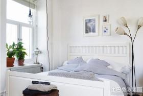 欧式风格公寓床图片