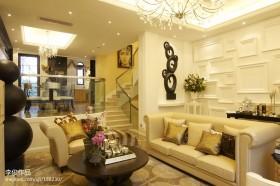 欧式客厅沙发茶几效果图片欣赏
