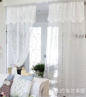 客厅遮光窗帘效果图