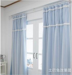阳台窗帘装修效果图