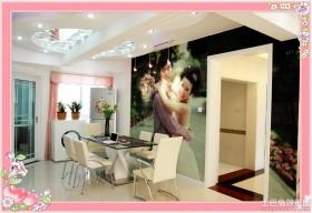 现代80后婚房餐厅装修效果图大全2013图片