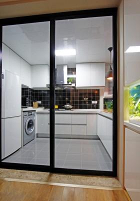 现代厨房门效果图大全