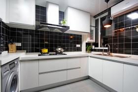 现代简约风格厨房整体橱柜装修效果欣赏