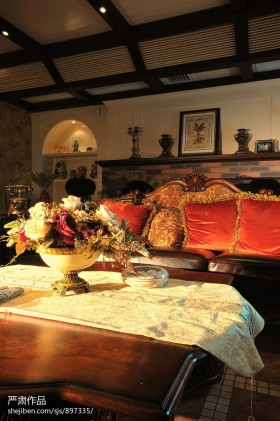 美式室内装饰效果图