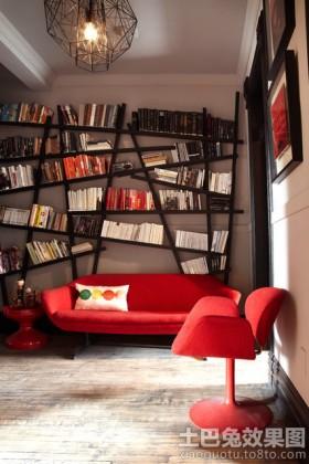 创意书房书架图片