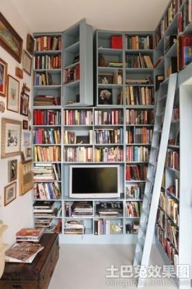创意书房书架