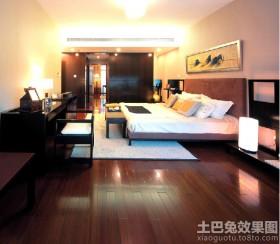 主卧室木地板贴图图片