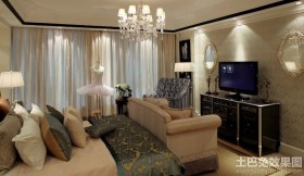 恒大绿洲装修样板房卧室图片