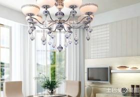 客厅青花瓷吊灯图片