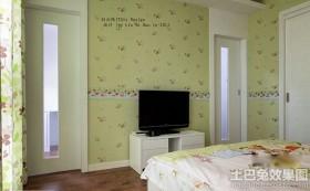 最新卧室电视背景墙效果图大全