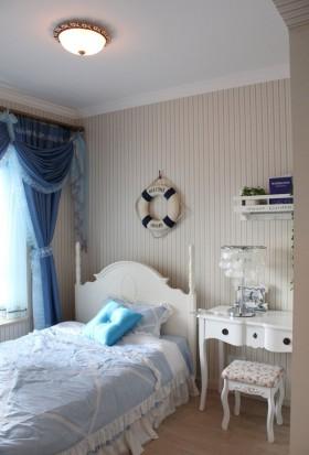 地中海风格卧室背景墙地中海风格卧室装修效果图欣赏
