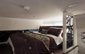 40平单身公寓卧室效果图
