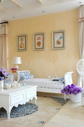 客厅沙发挂画墙效果图欣赏