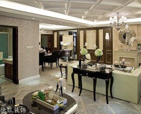 新古典风格客厅吊顶装修效果图欣赏