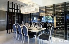 欧式风格餐厅水晶吊灯装修效果图大全2013图片
