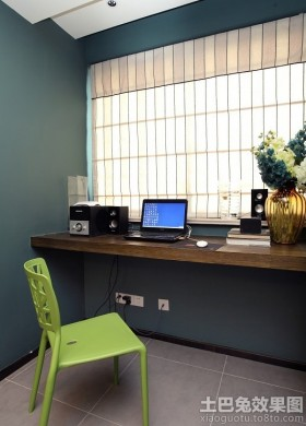 简约现代风格书房装修效果图大全2013图片