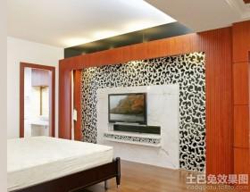 卧室电视背景墙大理石图片