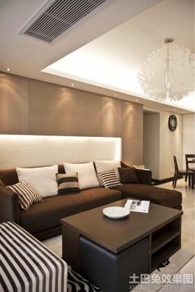 简约客厅沙发靠垫图片