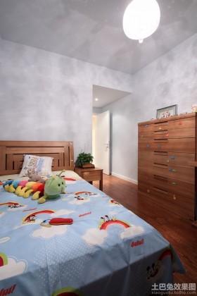 卡通小户型儿童房装修效果图