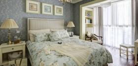 田园风格卧室精美壁纸图片