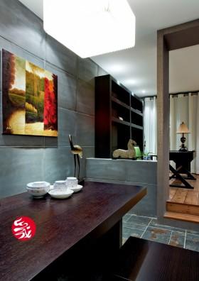中式风格小户型餐厅餐桌图片