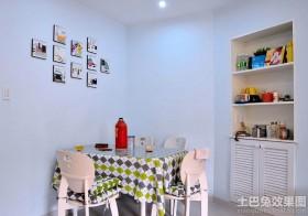 小型餐厅照片墙装修效果图