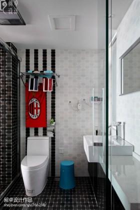 卫生间马赛克瓷砖装修效果图欣赏