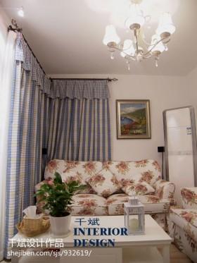 地中海风格客厅家具图片