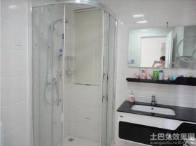 现代卫生间淋浴房隔断