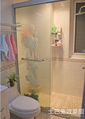 小型卫生间淋浴房隔断设计