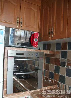 地中海风格厨房瓷砖装修效果图大全