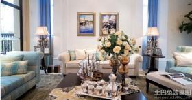 地中海风格客厅家居花瓶图片