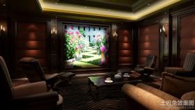 别墅客厅家庭影院设计
