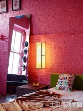 文化砖卧室背景墙