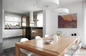 复式楼厨房餐厅装修效果图大全