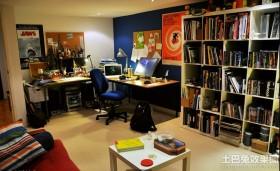客厅小工作间效果图