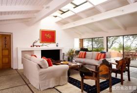 别墅客厅天窗装修效果图