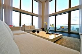 客厅布沙发茶几装修效果图