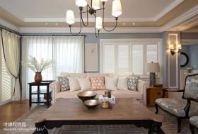 现代欧式风格客厅沙发茶几效果图