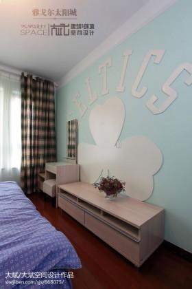 卧室墙面装饰效果图