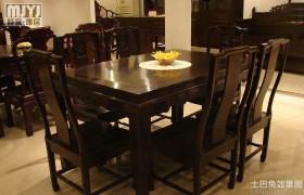 最新中式餐桌图片