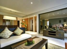 东南亚风格客厅沙发茶几图片