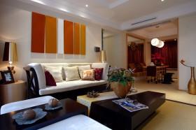 东南亚风格客厅装饰效果图大全