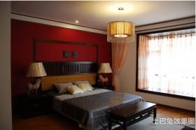 卧室新中式家具图片欣赏