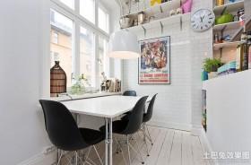 单身公寓餐厅吊灯效果图