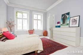 50平米公寓卧室装修效果图