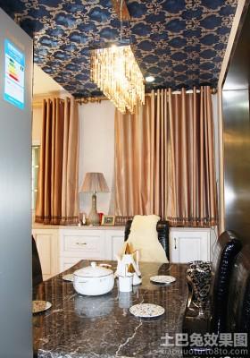 家装餐厅家具图片