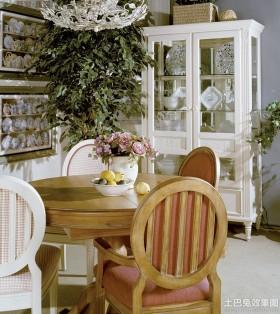 简欧风格餐厅家具图片