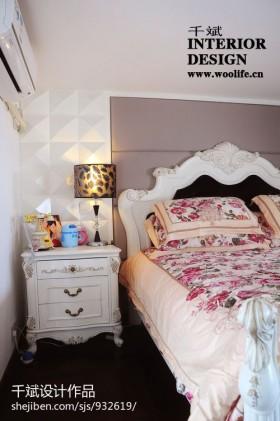 卧室柜子小台灯效果图